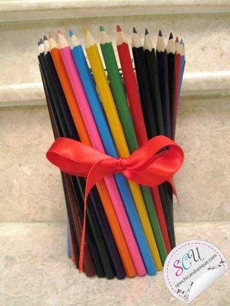 cute vase idea for teacher