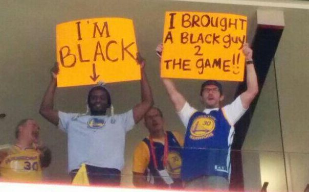 Here's How Two NBA Fans Insulted Donald Sterling At The ClippersGame