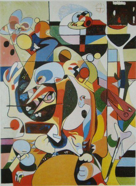Ejler Bille, Dyr i forskellige rum, 1937