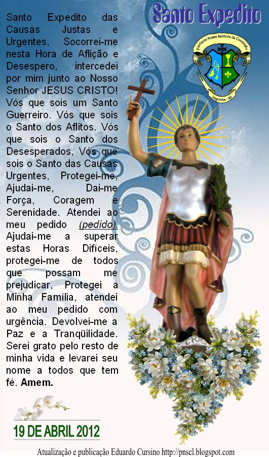 Santo Expedito oração