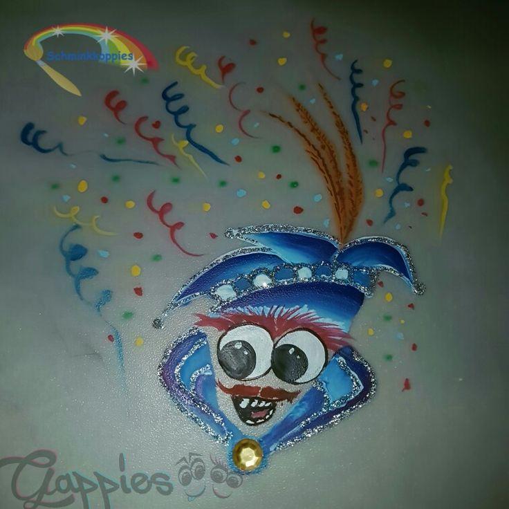 Prins Gappie de tweede #carnaval #gappie #gappies #Amsterdam #schmink