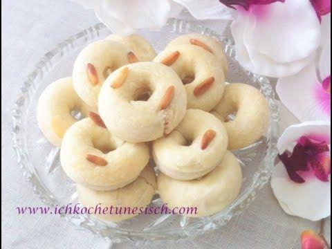 KAAK WARKA -- Kleingebäck mit Mandeln / tunesisch kochen lernen / cuisine tunisienne orientale - YouTube