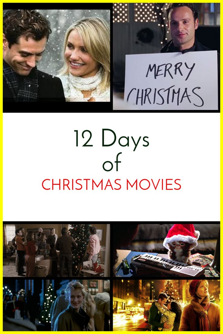 12 Days Of Christmas Movies