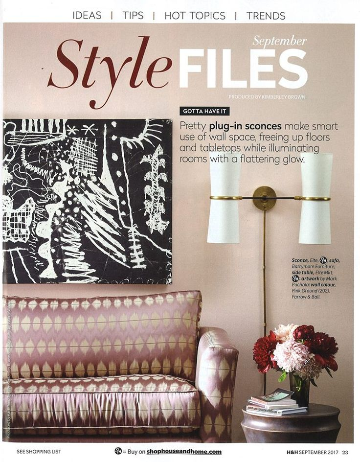 Barrymore Abbey sofa looks so good in this House & Home Style Files pic. See more of it here http://bit.ly/2umf03m #beautiful