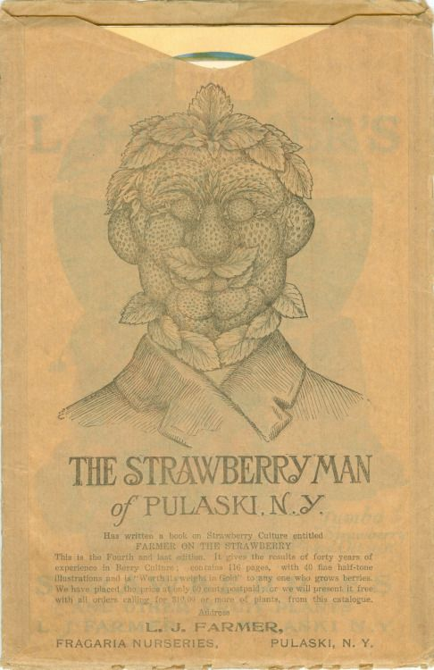 """L. J. Farmer, the """"Strawberry Man of Pulaski, N.Y."""", grew up in a large family in stressful times, having been born immediately following the cessation of the War Between the States. Apparently overlooked by his parents, he named himself Lawrence Jones Farmer at the age of ten. Three years later he took up fruit growing and found his calling. He lectured widely, published a number of books on farming, and was the editor of Farmer's Fruit Farmer. His strawberries received go..."""