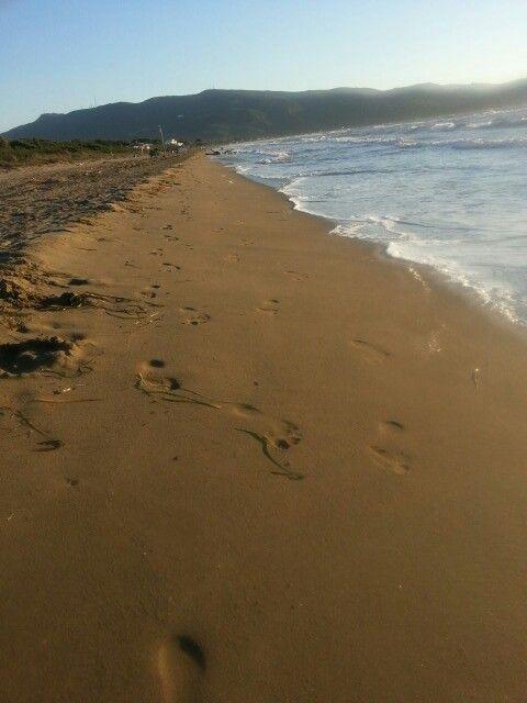 Hand in Hand über'n Strand