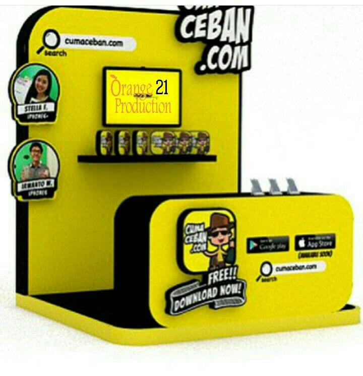 Design booth ceban.com