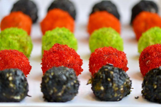 суши-шарики без риса
