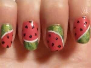 Nail art,  summer fun