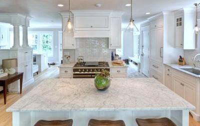 Carrara Marble Countertop Question I M Aware That White