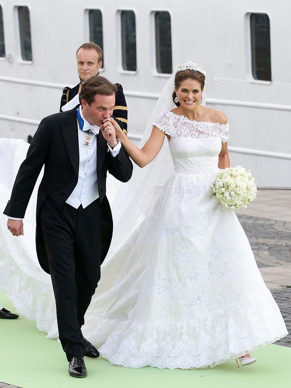 Prinzessin Madeleine: Hochzeit im Brautkleid von Valentino - Bilder