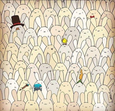 Zie jij het paasei tussen de konijnen? - Het Nieuwsblad: http://www.nieuwsblad.be/cnt/dmf20160327_02205827?utm_source=facebook