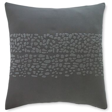 Throw Pillows John Lewis : Studio Stone Strata Square Decorative Pillow - jcpenney Oh baby! Pinterest Decorative ...