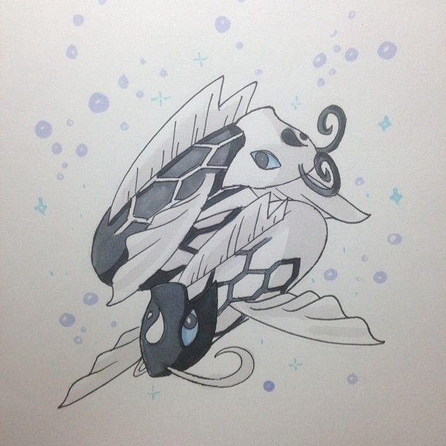 Kobilun The Moon PkMn Type: Water/Ice Ability: Lunar Aura ( all moon based moves have more effectivity. Example Moonblast does more damage and moonlight heals more hp) Pokedex Entry: it is said that this pkmns soul was once a part of the moon before coming to earth and joining with another pokemon. #pokemon #amethystversion #fakemon #pokemonart #art #fanart #drawing #doodle #sketch #prismacolor #avatar #moonspirit #koi #tui #la #yinyang