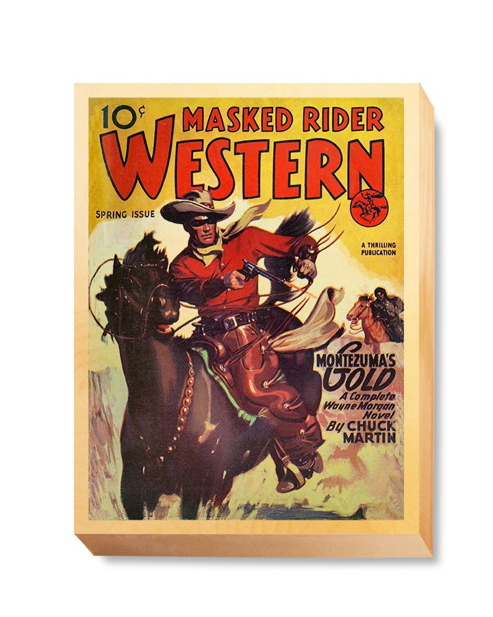 WES 019 Western Comic Masked Rider