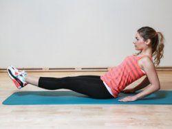 Die besten Übungen für einen flachen Bauch   EAT SMARTER