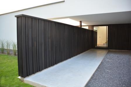 woodface ® houten gevelbekleding modern ontwerp Christophe Baetens