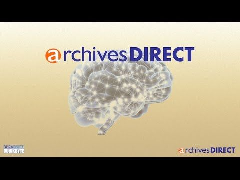 This 3-minute DuraSpace Quickbyte video introduces the concepts behind ArchivesDirect, the new hosted service that provides users with a robust preservation workflow and long-term archiving—all accessible through a web-based application. More information at archives direct.org.