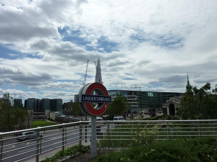 Underground Tower Hill @ London
