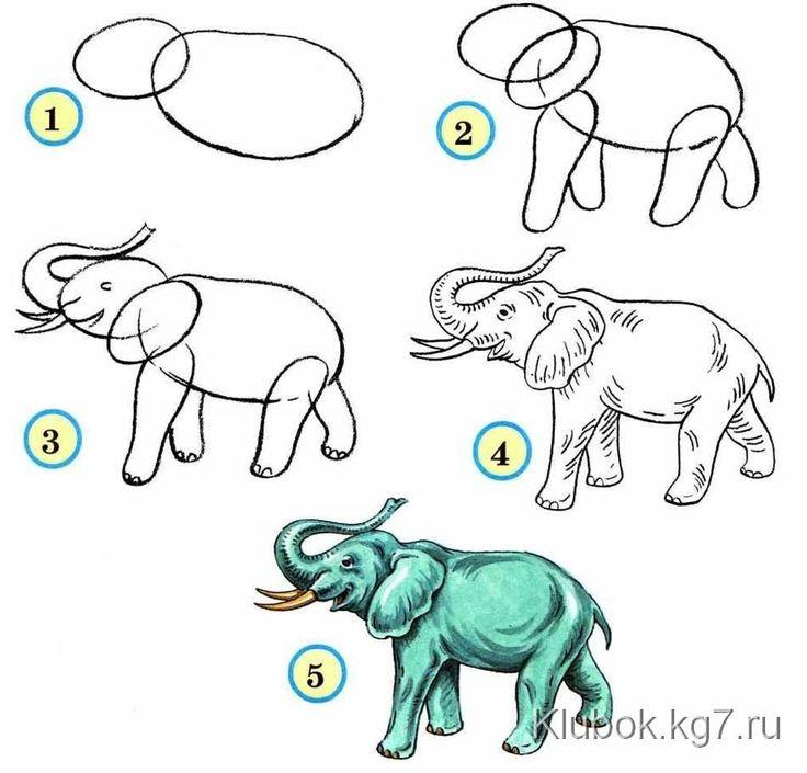 обучающие картинки для рисования карандашом нужно