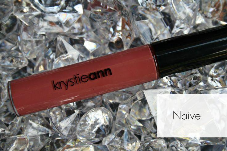 Krystie Ann Cosmetics: Lip Gloss  Shade: Naive  Price $15   Lip glosses, gloss, cosmetics, makeup, nude gloss, nude lip  www.krystieann.com