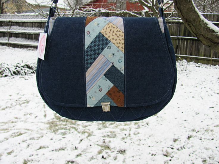 riflová kabelka