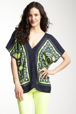 Scarf Print Caftan. I think I could pull this off