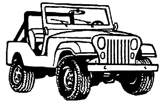 Line Drawing Jeep : Jeep images clip art free gifs jpegs icons and