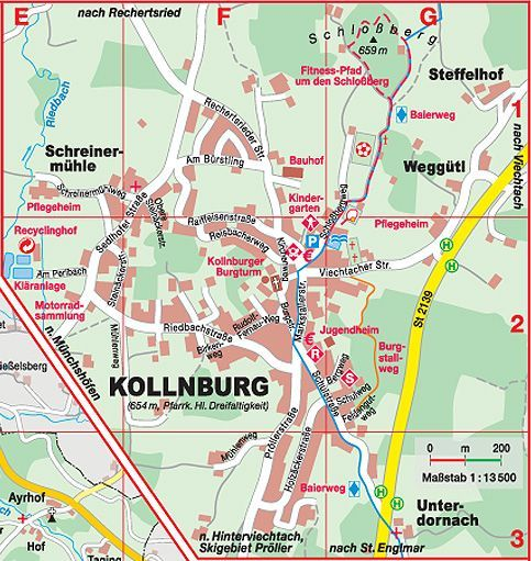 images of village map of kollnburg - Google Search