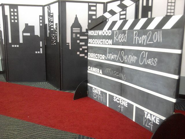 Photo Op Hollywood Theme by Celadon Events, via Flickr