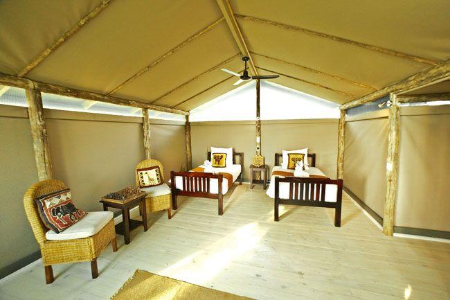 Luxury Camping  Pom Pom Camp - Official Website | Botswana
