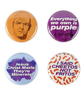 Hank schrader badges! #breaking bad dean #norris, walter #white heisenberg button,  View more on the LINK: http://www.zeppy.io/product/gb/2/231077785061/