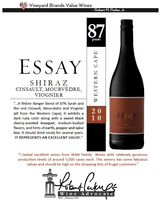wine essay
