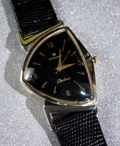 Pacer Electric Watch (Hamilton Watch Company / 1957 / U.S.)