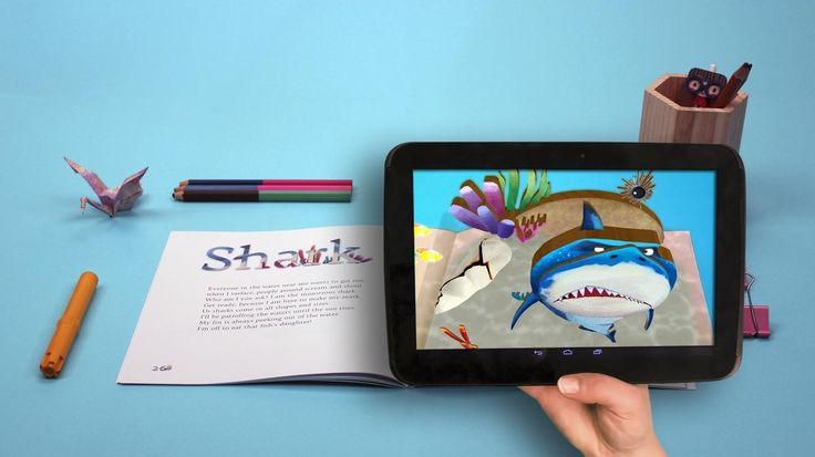 10 Augmented Reality Apps For Kids- A great way to engage students