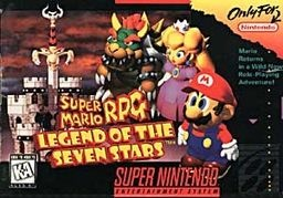 """""""Super Mario RPG: Legend of the Seven Stars"""" So, on a whim, I've just started playing this. Not big on RPGs and never had a SNES. We'll see how this goes."""
