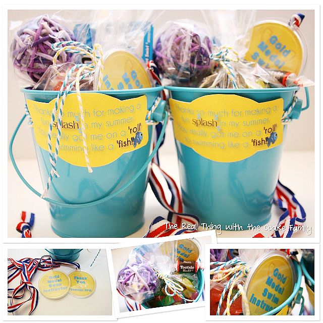 Are your little ones taking swim lessons this Summer? Treat their teacher with these adorable swim instructor gifts.