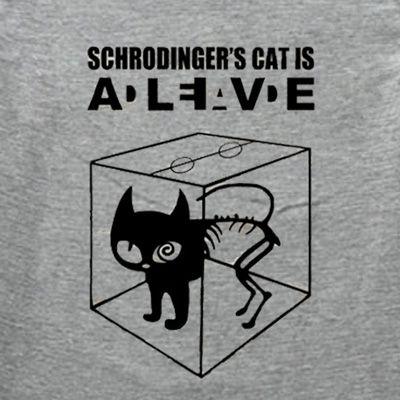 Schrodinger's cat tattoo