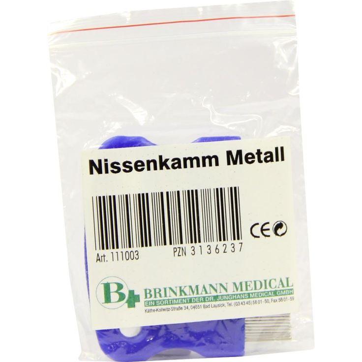 NISSENKAMM Metall:   Packungsinhalt: 1 St PZN: 03136237 Hersteller: Brinkmann Medical ein Unternehmen der Dr. Junghans Medical GmbH…