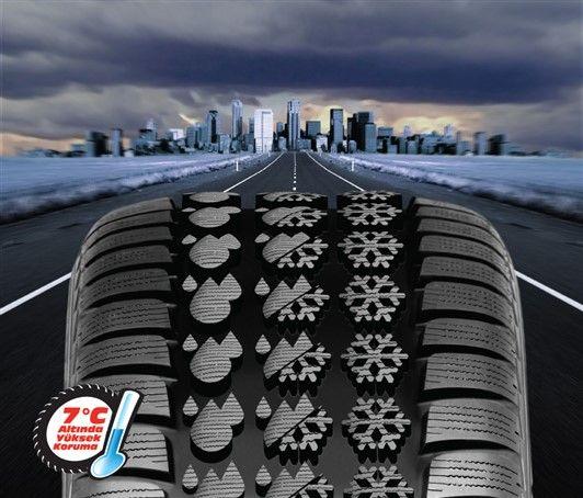 Kış lastiği sadece kış aylarında kullanılmalıdır. Ekim ayından itibaren araçlarınızda kış lastiği takılı olması can ve mal güvenliğinizi açısından oldukça önemlidir. Herkesin bildiği gibi kış lastiği ile ilgili uygulama 1 Aralık tarihinde başlıyor. Fakat ülkemizde yağışlı ve soğuk hava bu tarihten önce de başlayabilmektedir. Bu yüzden havaların soğuması ve yağışların başlaması ile birlikte kış lastiklerinizi taktırınız.
