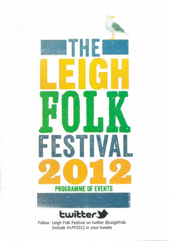 Leigh Folk Festival 2012 @ Leigh-on-Sea, Essex, 24th June 2012