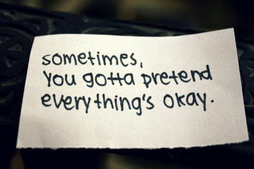 sayings photos lonely depression | Everything's Okay Depression Overcoming Depression Quotes