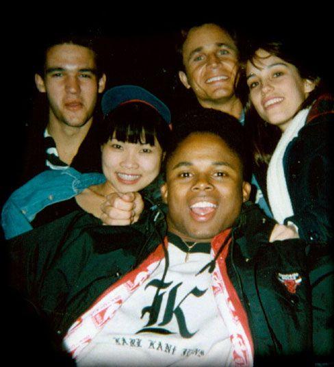 Power Rangers cast selfie