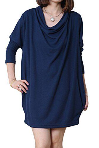 Generic Women's Long Sleeve T-Shirt Autumn Dress Pullover With Pockets Generic http://www.amazon.com/dp/B00PUNWJGA/ref=cm_sw_r_pi_dp_7tPBub0QTWTJW