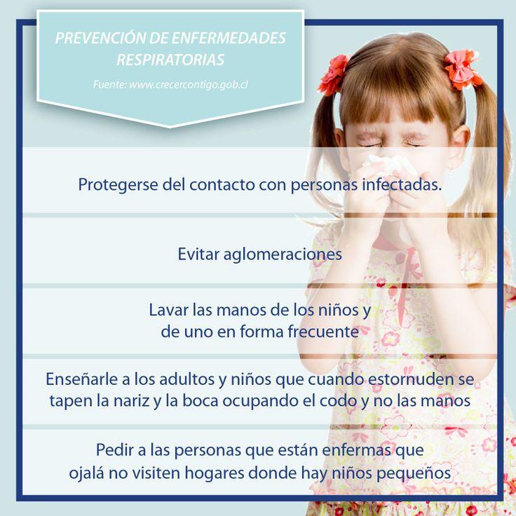 Algunos datos para prevenir enfermedades respiratorias en tus hijos...