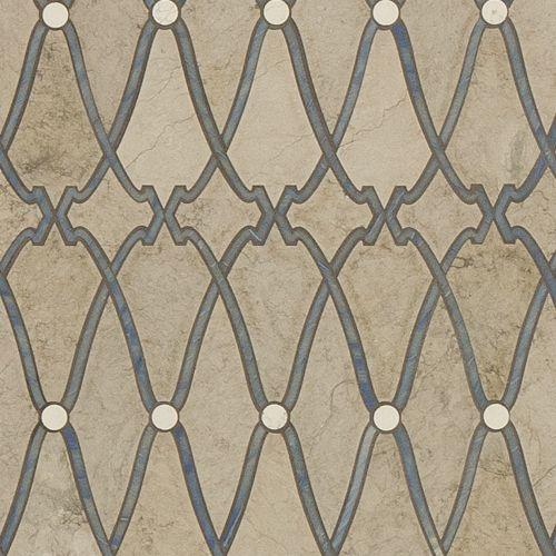Artistic tile Knossos waterjet