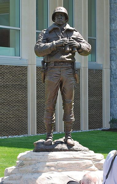 General George S. Patton Statue ~ United States Military Academy ~ West Point…