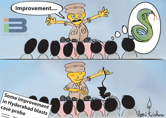 Police Enquiry Cartoon
