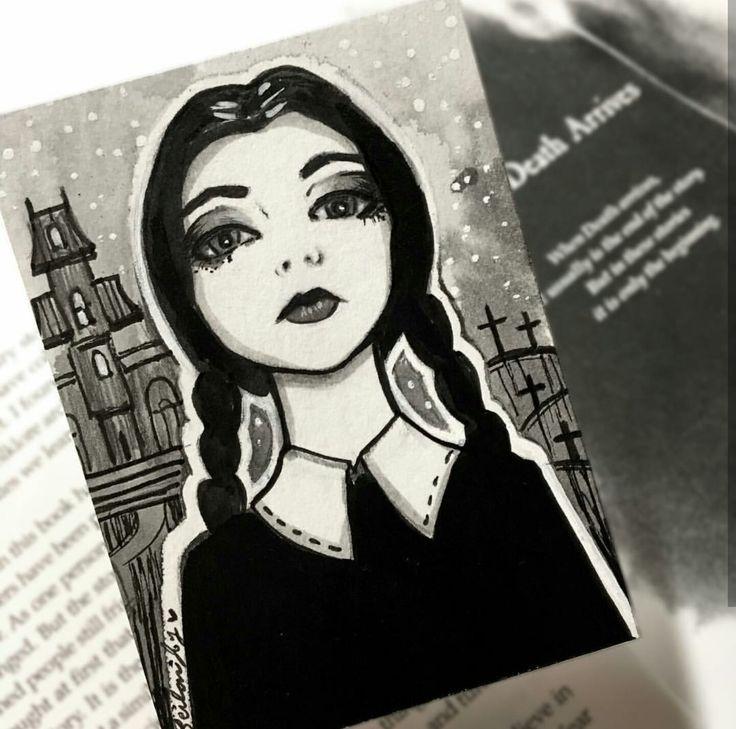 Wednesday Addams by Missleilanijoy