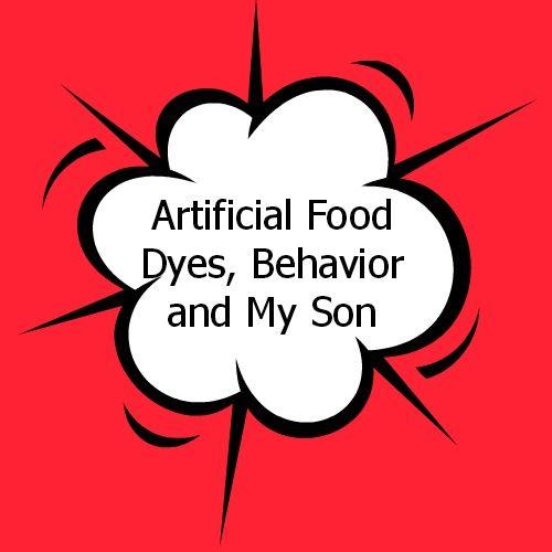 Food Dye Allergy Behavior Beyond Allergies Why Food Dyes May Cause ...